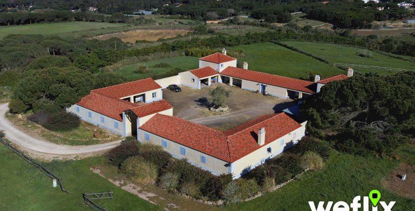 VENDIDO – Quinta Rústica com Cavalariças (8 hectares com 956m2 construídos) – Sintra/Janas