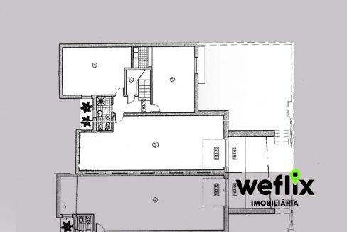 moradia t5 com piscina beloura I - weflix imobiliaria planta garagem cave