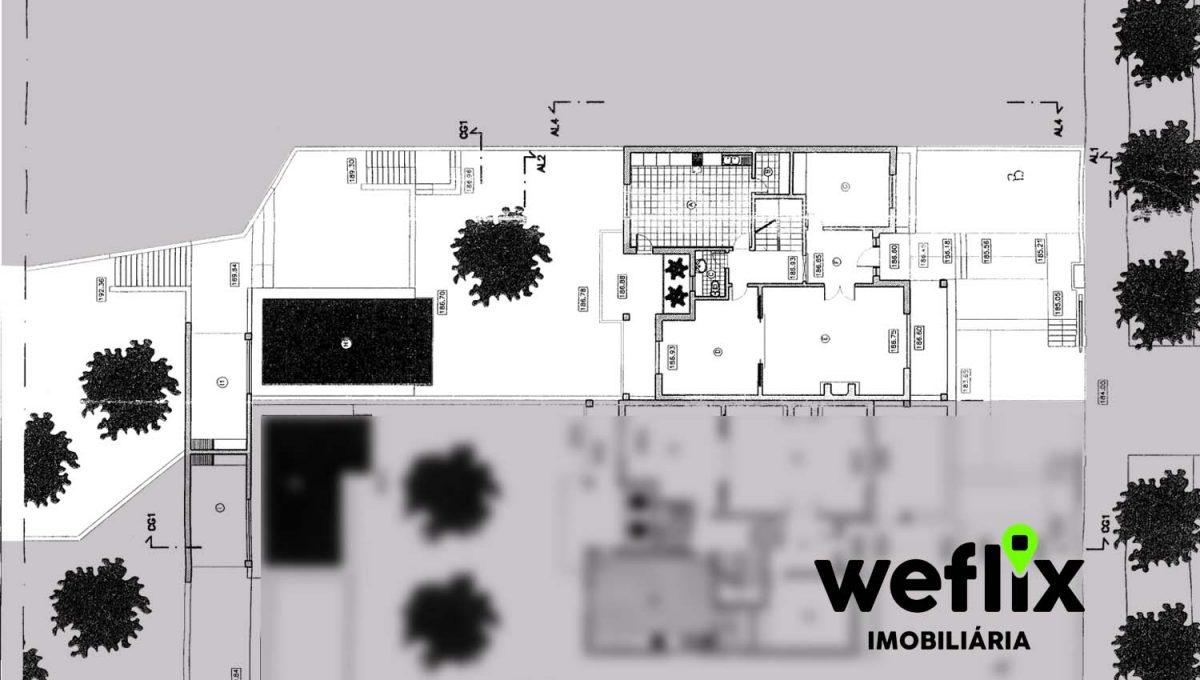 moradia t5 com piscina beloura I - weflix imobiliaria planta piso 0