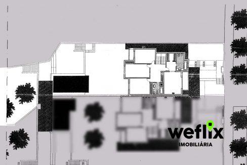 moradia t5 com piscina beloura I - weflix imobiliaria planta piso 1