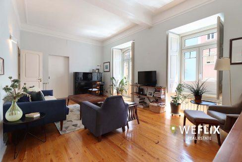 apartamento t3 em campo de ourique - weflix real estate 1