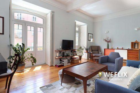 apartamento t3 em campo de ourique - weflix real estate 1aa