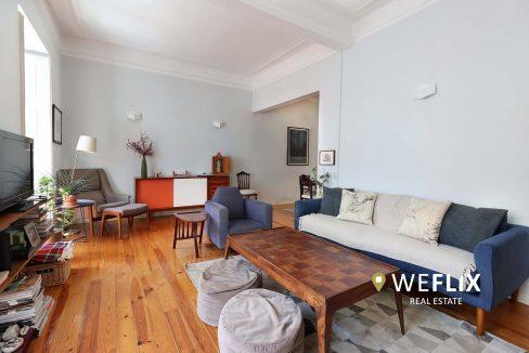 apartamento t3 em campo de ourique - weflix real estate 1b