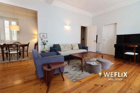 apartamento t3 em campo de ourique - weflix real estate 1c