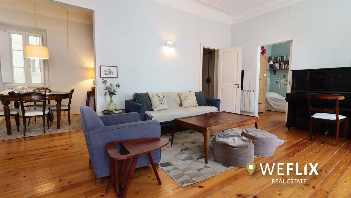 apartamento t3 em campo de ourique - weflix real estate 1d