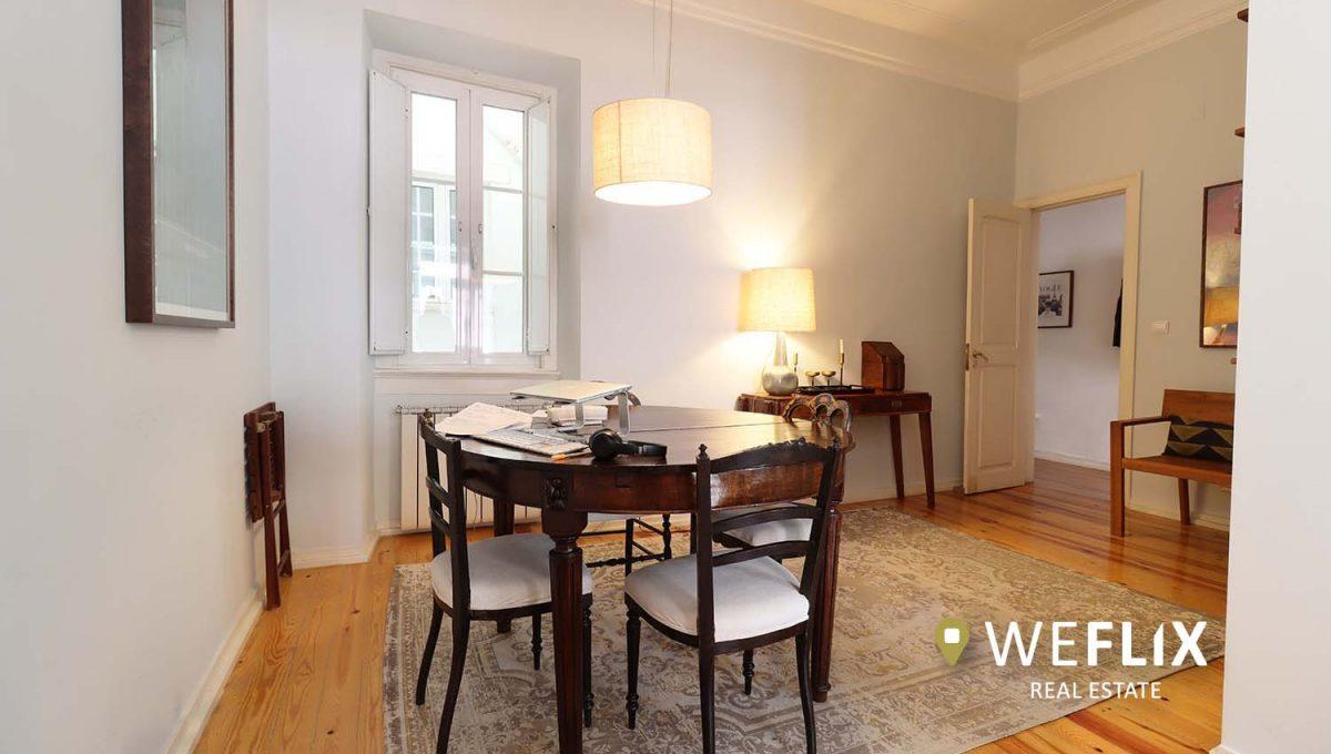 apartamento t3 em campo de ourique - weflix real estate 1f
