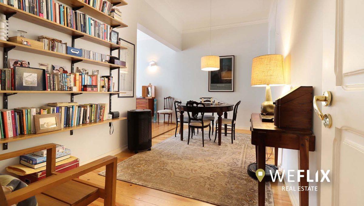 apartamento t3 em campo de ourique - weflix real estate 1g