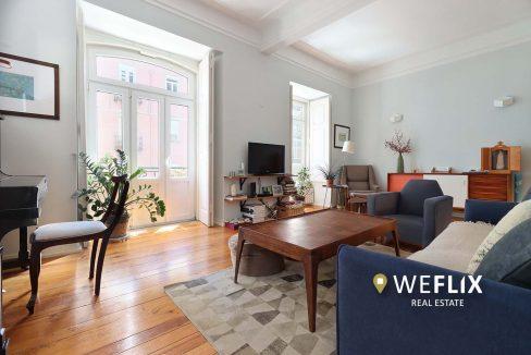 apartamento t3 em campo de ourique - weflix real estate 1h