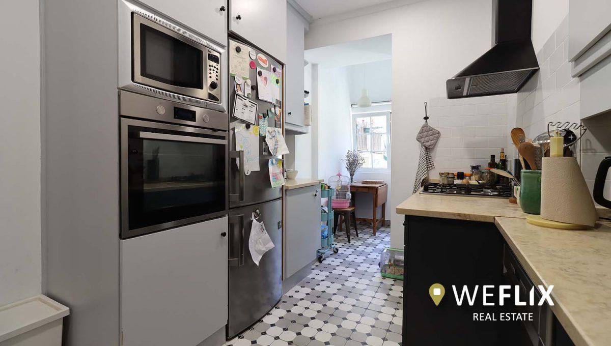 apartamento t3 em campo de ourique - weflix real estate 5a