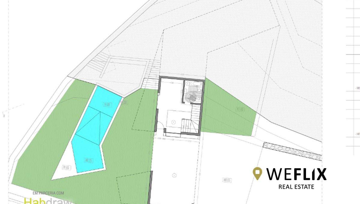 moradia na ericeira com piscina - weflix real estate planta piso 0