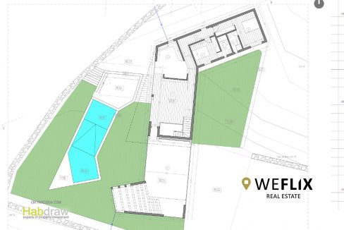 moradia na ericeira com piscina - weflix real estate planta piso 1