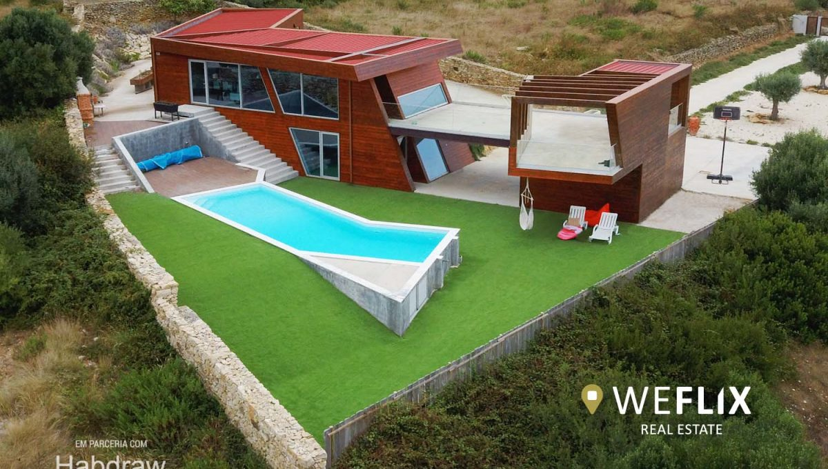 moradia na ericeira mafra com piscina - weflix imobiliaria 9j2